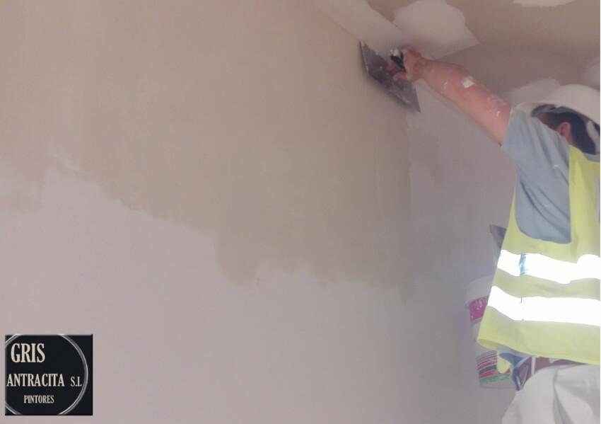 Precio como quitar gotele pintores madrid for Cuanto cuesta quitar el gotele